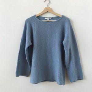 Boden sky blue loose sweater